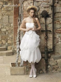 Baroque Wedding Dress Collection by Inmaculada Garcia