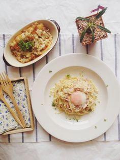 Cabonara & Lasagna