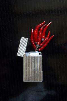 by Sarah Illenberger (sculpture évolutive).