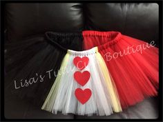 Adult Queen of Hearts tutu. Available in plus size. by LisasTutus, $25.00