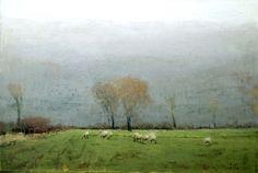 October-_sheep_and_rain - Michael Workman