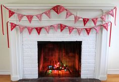 Christmas bunting Advent calendar Inspiration