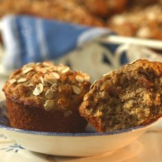 Date-Oat Muffins... From: EatingWell Magazine Winter 2004 Toasting the oats for this hearty muffin enhances their nutty flavor; orange zest contributes a citrus fragrance that plays well with the sweet dates.