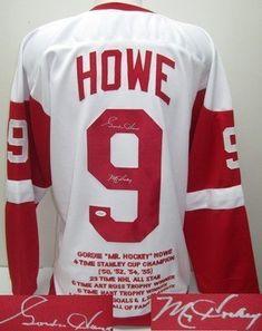 Gordie Howe Signed Jersey - Pro Style Custom White Stat JSA - Autographed NHL Jerseys by Sports Memorabilia. $533.06. Gordie Howe Signed Pro-Style Custom White Stat Jersey JSA