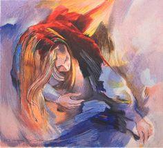 Reaching for Something by Christine Comyn