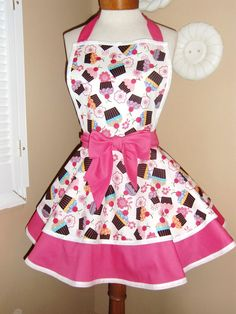 what cupcake kitchen would be complete without a cupcake apron?