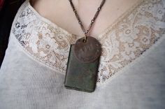 """WWI soldiers locket    My son and I wore something of """"dads"""" frequently"""