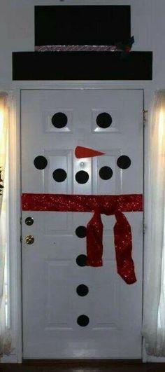 Cute snowman home decor