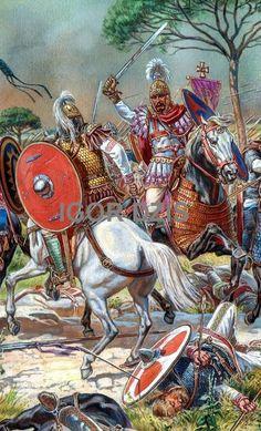 Battle of Rome 537 AD (at the Salarian Bridge)