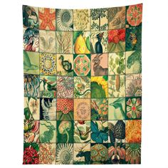 Belle13 Wonderful World Patchwork Tapestry | DENY Designs Home Accessories