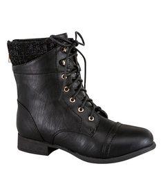 Look at this #zulilyfind! Black Smart Boot #zulilyfinds