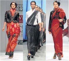 Futuristic neo sarees   saree image