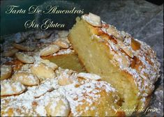 glaseado de fresa: Tarta De Almendras Sin Gluten French Toast, Keto, Breakfast, Cakes, Glutenfree, Strawberry Frosting, Almond Cupcakes, Dessert Recipes, Strawberry Fruit