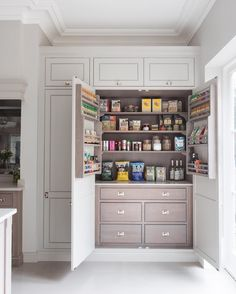 5 Fortunate Clever Tips: Lowes Kitchen Remodel Beautiful kitchen remodel before and after concrete counter.Large Kitchen Remodel Breakfast Bars kitchen remodel on a budget small.Really Small Kitchen Remodel. Kitchen Pantry, New Kitchen, Kitchen Cabinets, Tall Cabinets, Pantry Cupboard, Organized Kitchen, Wall Pantry, Wolf Kitchen, Wall Cupboards
