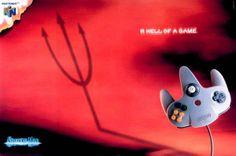 http://www.intergamers.mx/videojuegos/15-ejemplos-de-cuando-la-publicidad-de-nintendo-si-vendia/ Nintendo 64 diablo