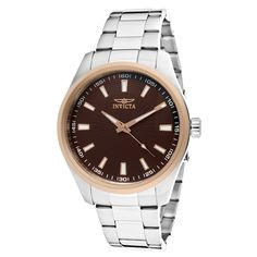 Invicta Men's 12827 Specialty Brown Dial Watch *** Continue to the watch at the image link.