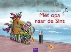 Boek, Met opa naar de Sint, stefan Boonen, Maria Meijer