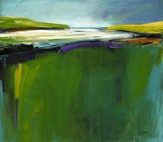 Gerry Irvine contemporary landscape painting