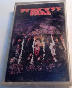 PRINCESS PANG Tape Cassette SELF TITLED album Blade Metal Records Canada Capitol