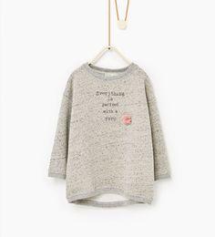 Afbeelding 1 van Sweatshirt met tutu van Zara