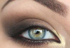 Pretty smokey eye!