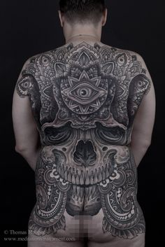 Extremely detailed back piece by Thomas Hooper