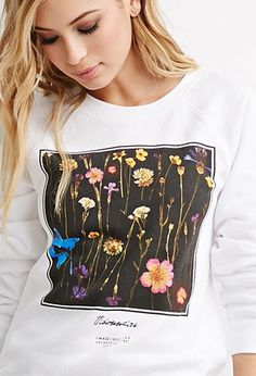 Floral Graphic Sweatshirt | Forever 21