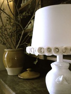 You Could Make That: Paper roses and lampshades