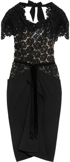 Roland Mouret England Harmon | More lace here: http://mylusciouslife.com/pictures-of-lace/
