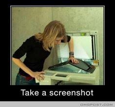 Take a Screenshot.. Not Scan..!