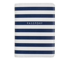 Keep your passport safe and tidy with this stylish Leather Passport Holder, which is perfect for protecting it from wear and tear as you travel. The durable design makes it easy to add and remove your passport for airport security, while the extra pockets mean you can store tickets and documents too.