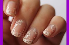 Un buen manicure n puede faltar , este manicure define a una mujer sencilla comoda y delicada,
