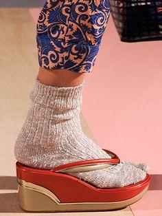 Marc Jacobs Breaks The Cardinal Socks-And-Flip-Flops Rule