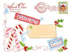 North Pole Special Delivery Printable {from Santa} - Design Dazzle