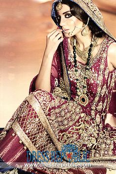 Pink Wedding Dresses from Ali Xeeshan Bridal Collection Brisbane, Melbourne, Sydney, Ali Xeeshan, Perth Australia, Pink Wedding Dresses, Indian Bridal, Bridal Collection, Pakistani