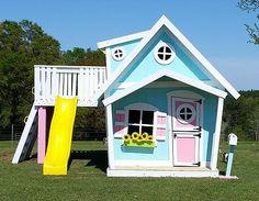 Big playhouse xl kids house, baby play house, playhouse ideas, playhouse in Backyard Playset, Backyard Playhouse, Build A Playhouse, Backyard For Kids, Playhouse Ideas, Playhouse Slide, Cubby Houses, Play Houses, Big Playhouses