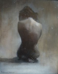 """Patrick Palmer; Oil, 2012, Painting """"Absence"""""""
