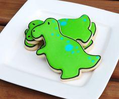 T-Rex Sugar Cookies