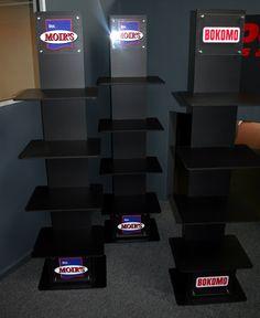 semi permanent product displays