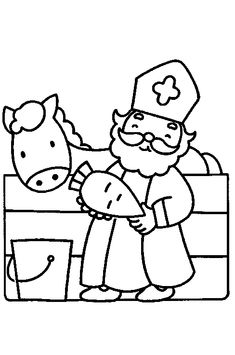 Sinterklaas is Jarig - Kleurplaat christmascraftsforkids St Nicholas Day, Donald And Melania, Drawing Sheet, Singing Happy Birthday, Theme Noel, Animal Coloring Pages, Wood Ornaments, Diy For Kids, 4 Kids