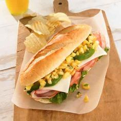 This new age sandwich features the Caribbean flavor combination of sweet pineapple and spicy jerk seasoning.