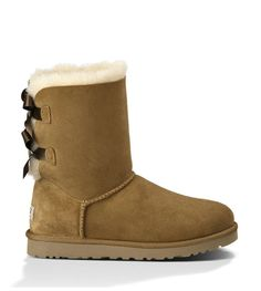 UGG Womens Chestnut Boots 1002954 Bailey Bow