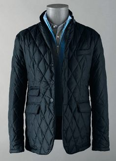 The Quilted Jacket goes anywhere.