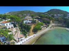 Drone footage of Spain: Javea, Denia & Moraira. With Chakra healing music, 384 Hz, Throat Chakra. Javea Spain, Chakra Healing Music, Moraira, Aerial Drone, Throat Chakra, Aerial View, Travel Tips, Around The Worlds, Tours