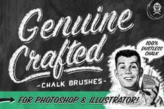 Genuine Crafted Chalk for PS & AI by GraphicMonkee on Creative Market