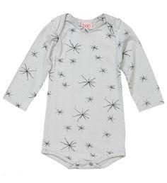 Grey Starburst Bodysuit