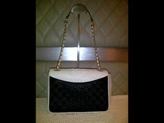 Tory Burch Fleming with double pocket black