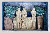 Keramikmuseum Westerwald - 'Treffpunkt' (museum-digital:rheinland-pfalz)Gisela Schmidt-Reuther, Rengsdorf, 1980