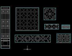 Ancient windows cad block,Free Autocad Drawing, Cad Blocks