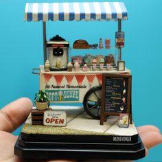 1:24 Ice Cream Cart by minivenger on DeviantArt